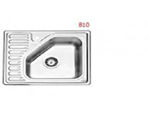 سینک استیل البرز مدل 50-810 توکار