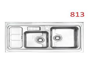 سینک استیل البرز مدل 50-813 توکار
