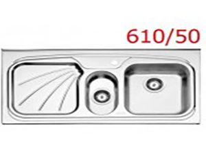 سینک فانتزی روکار استیل البرز مدل 610/50