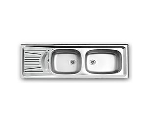 سینک ظرفشویی اخوان مدل1-12050NEW-S