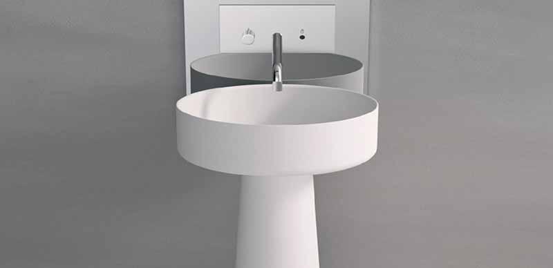 روشویی پایه دار | انواع روشویی دستشویی